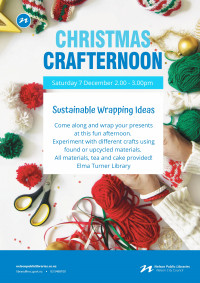 Christmas crafternoon poster