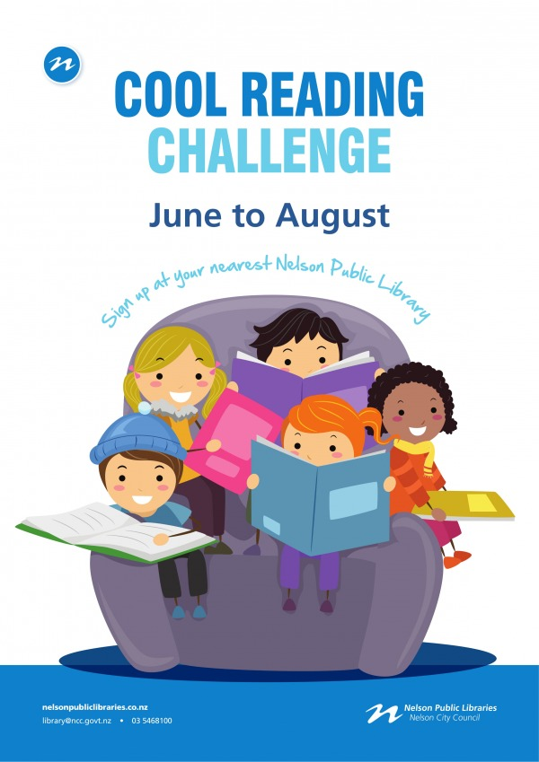 CL18 cool reading challenge poster june 2018 1