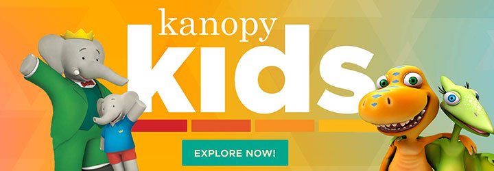 kanopy kids header